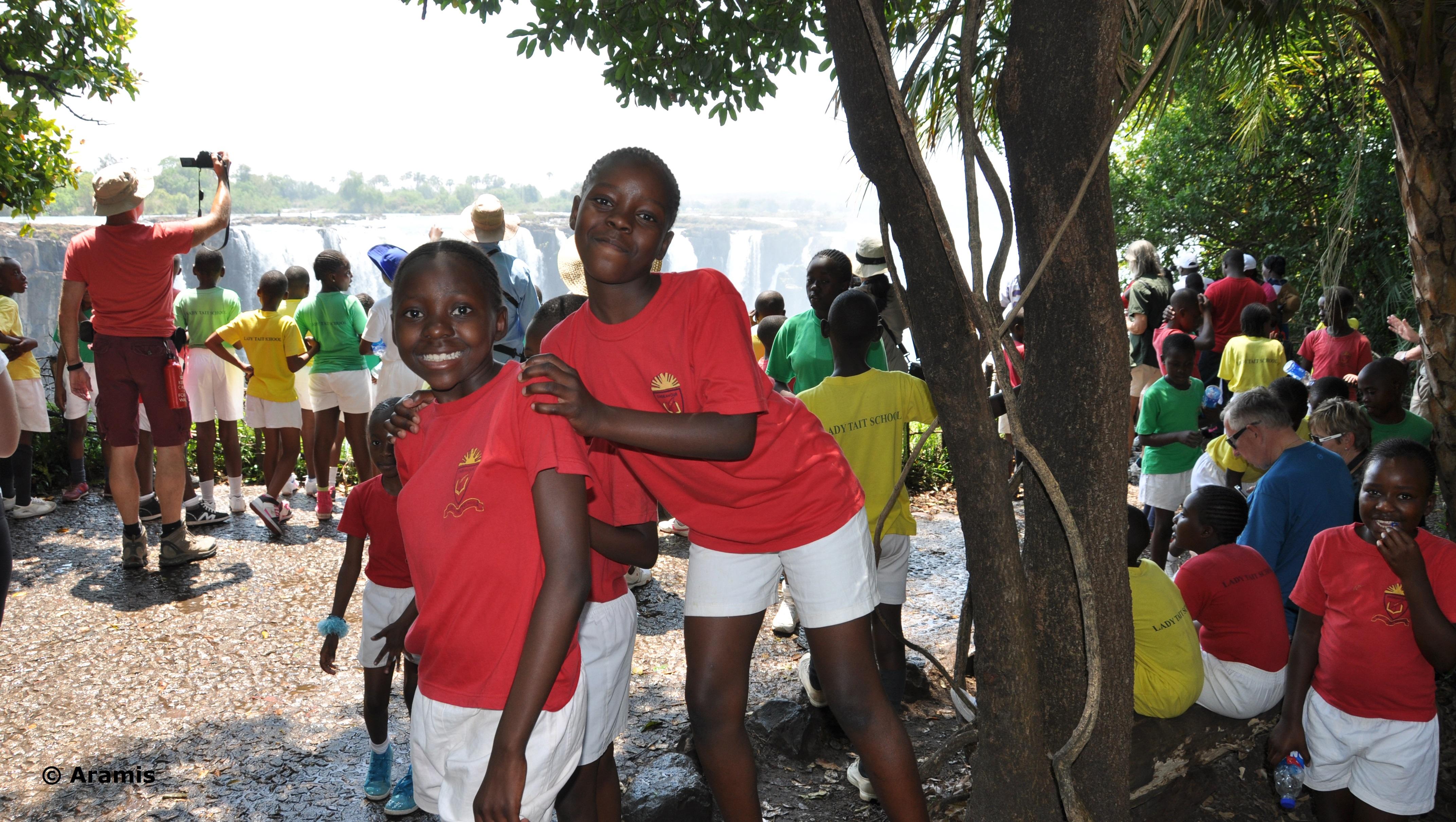 Bambini_Victoria Falls