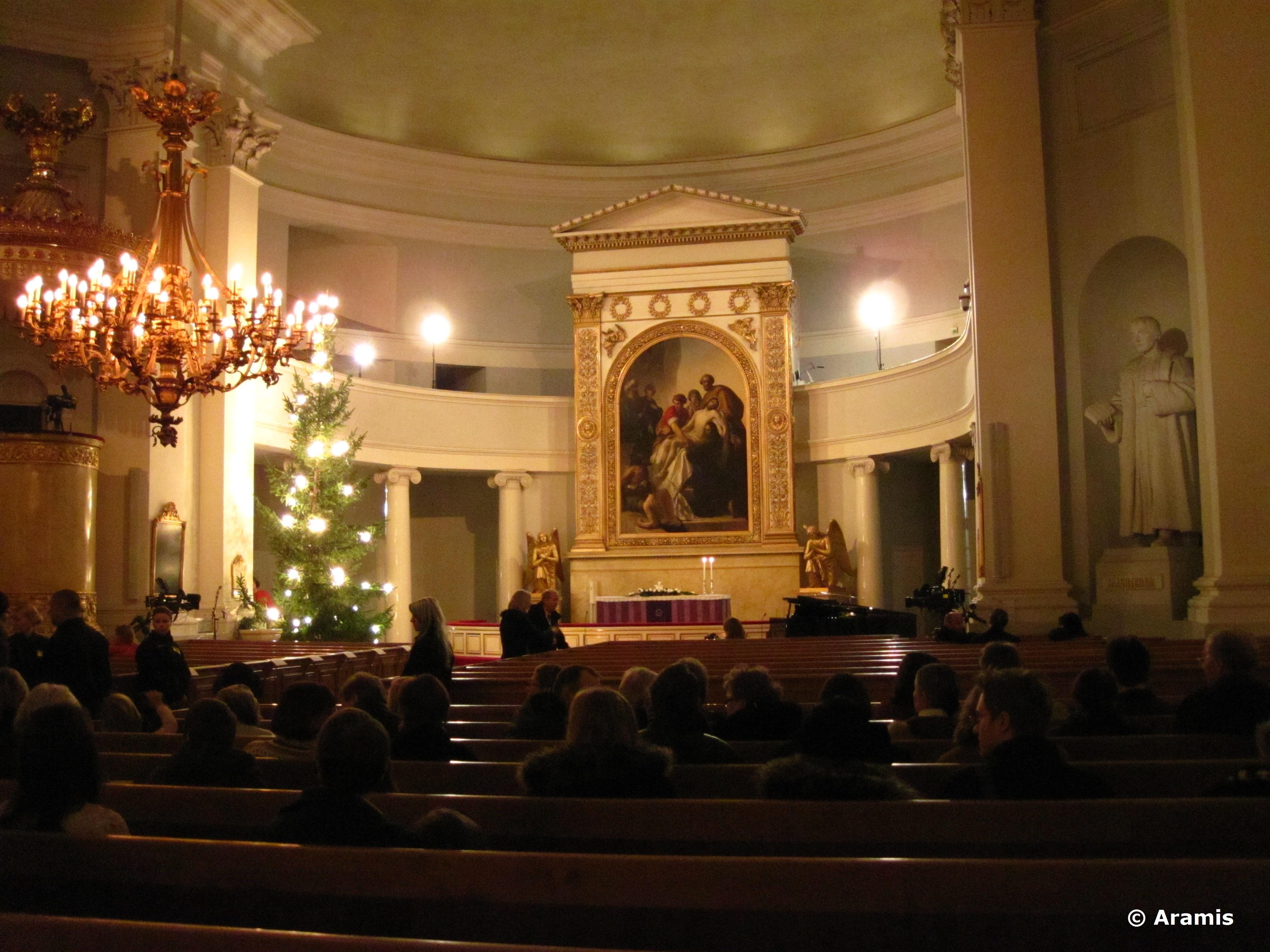 Helsinki_interno cattedrale