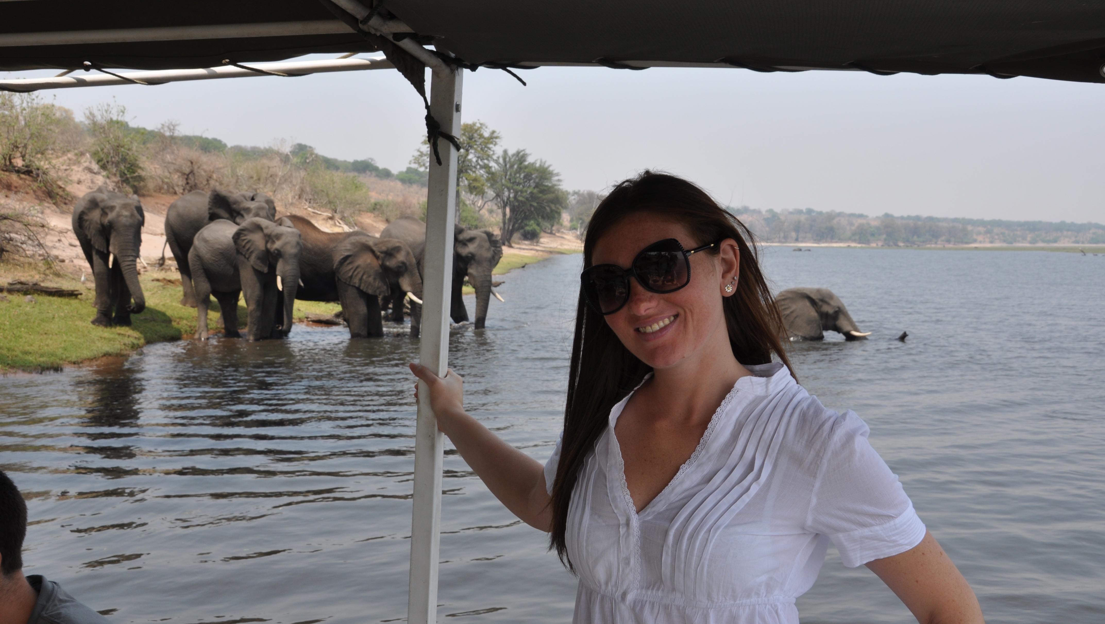 092 Game drive fluviale sul Chobe River 078