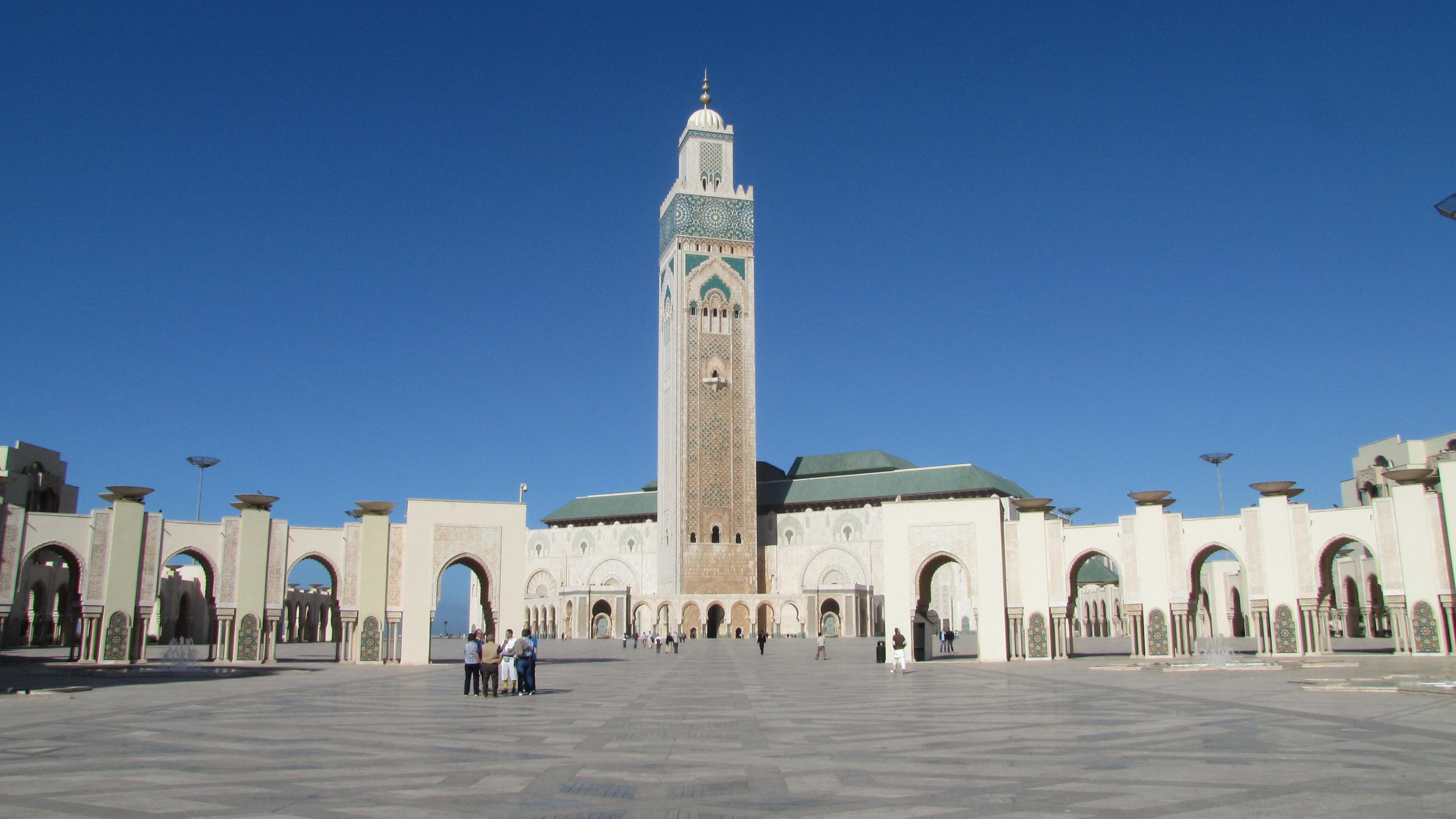Casablanca_piazzale moschea
