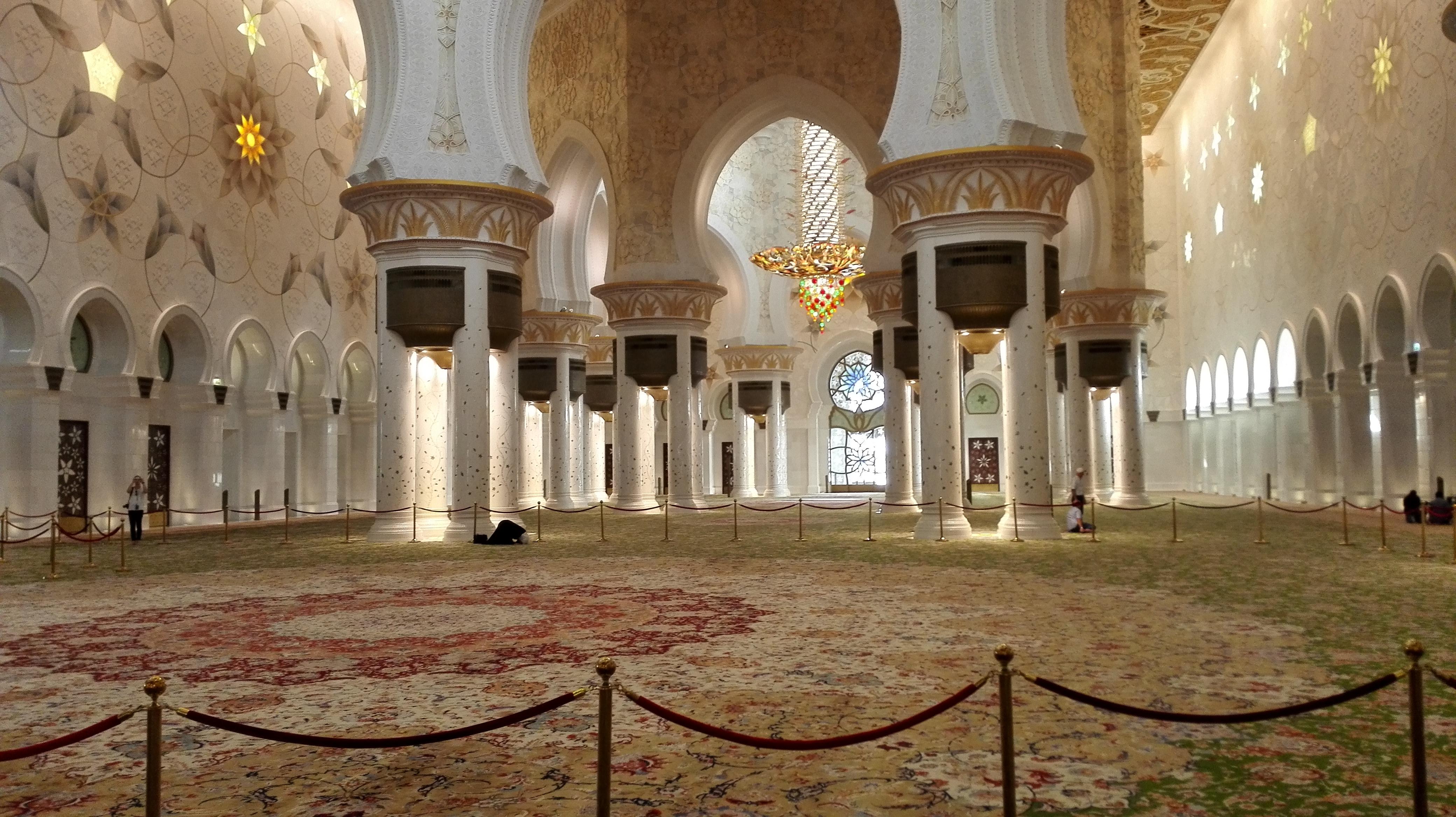 Moschea_Abu Dhabi_interni