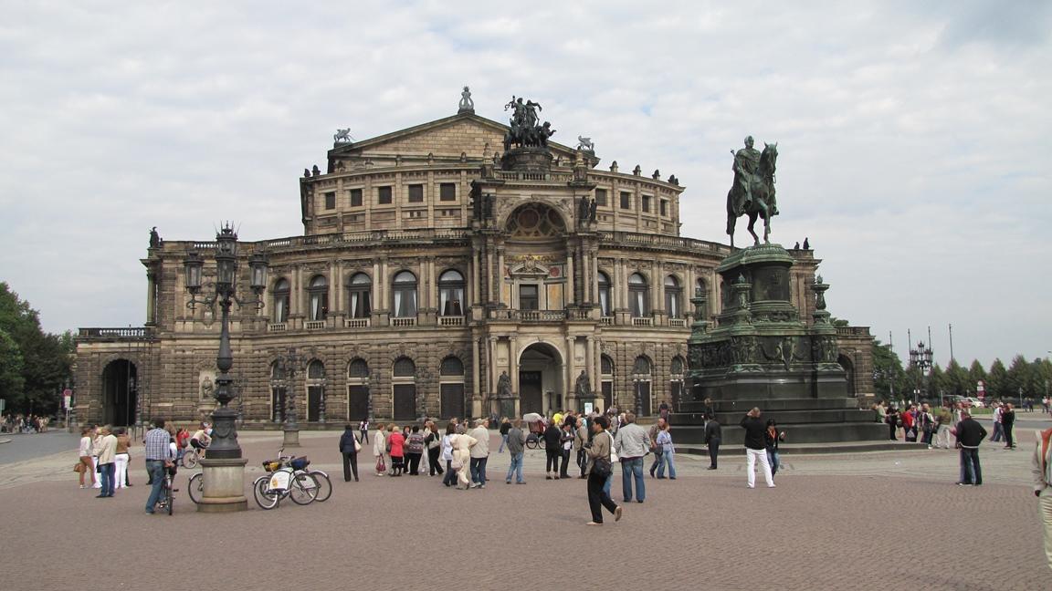 Teatro Semper Oper Dresda