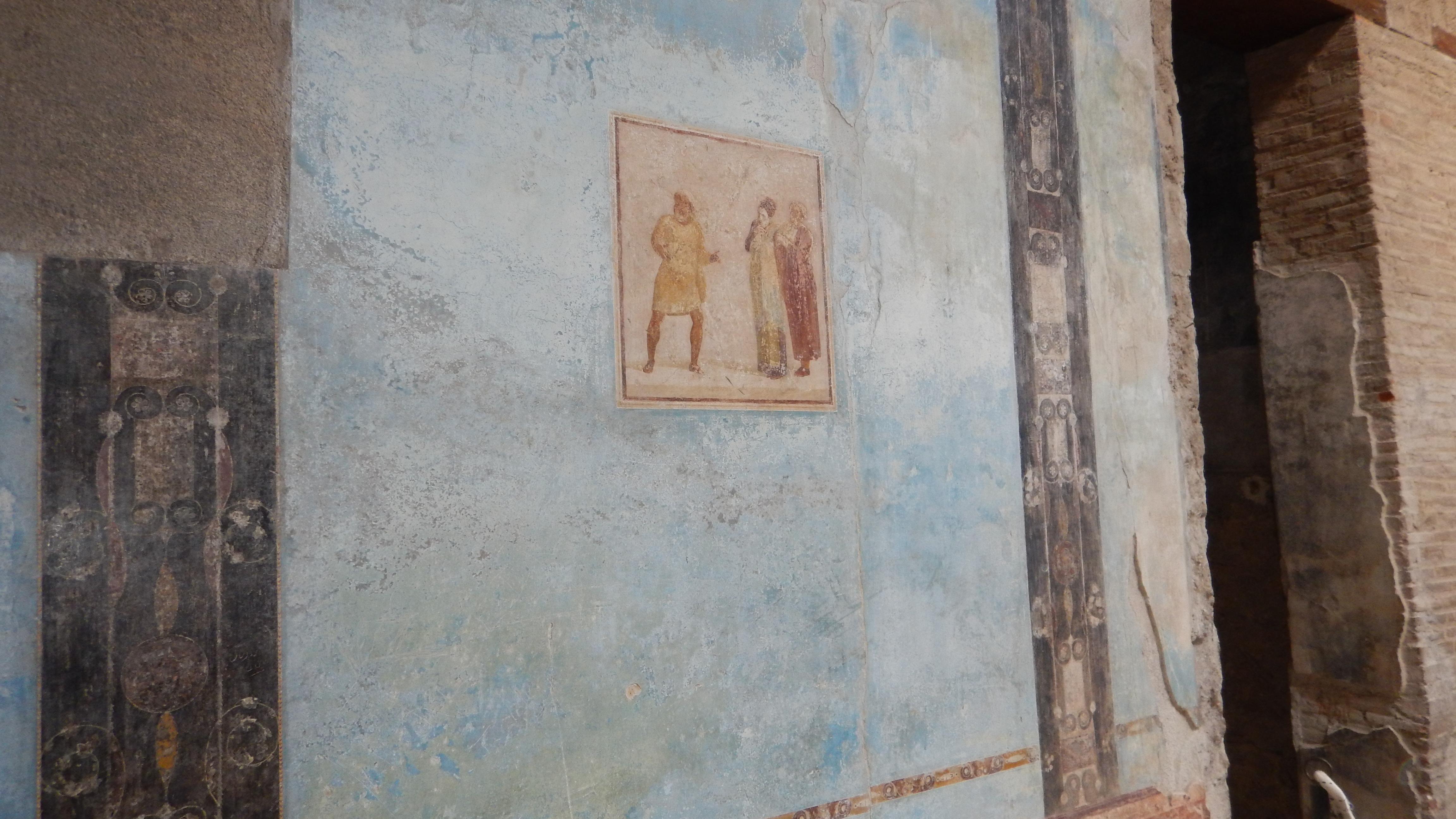 Affreschi_scavi di Pompei
