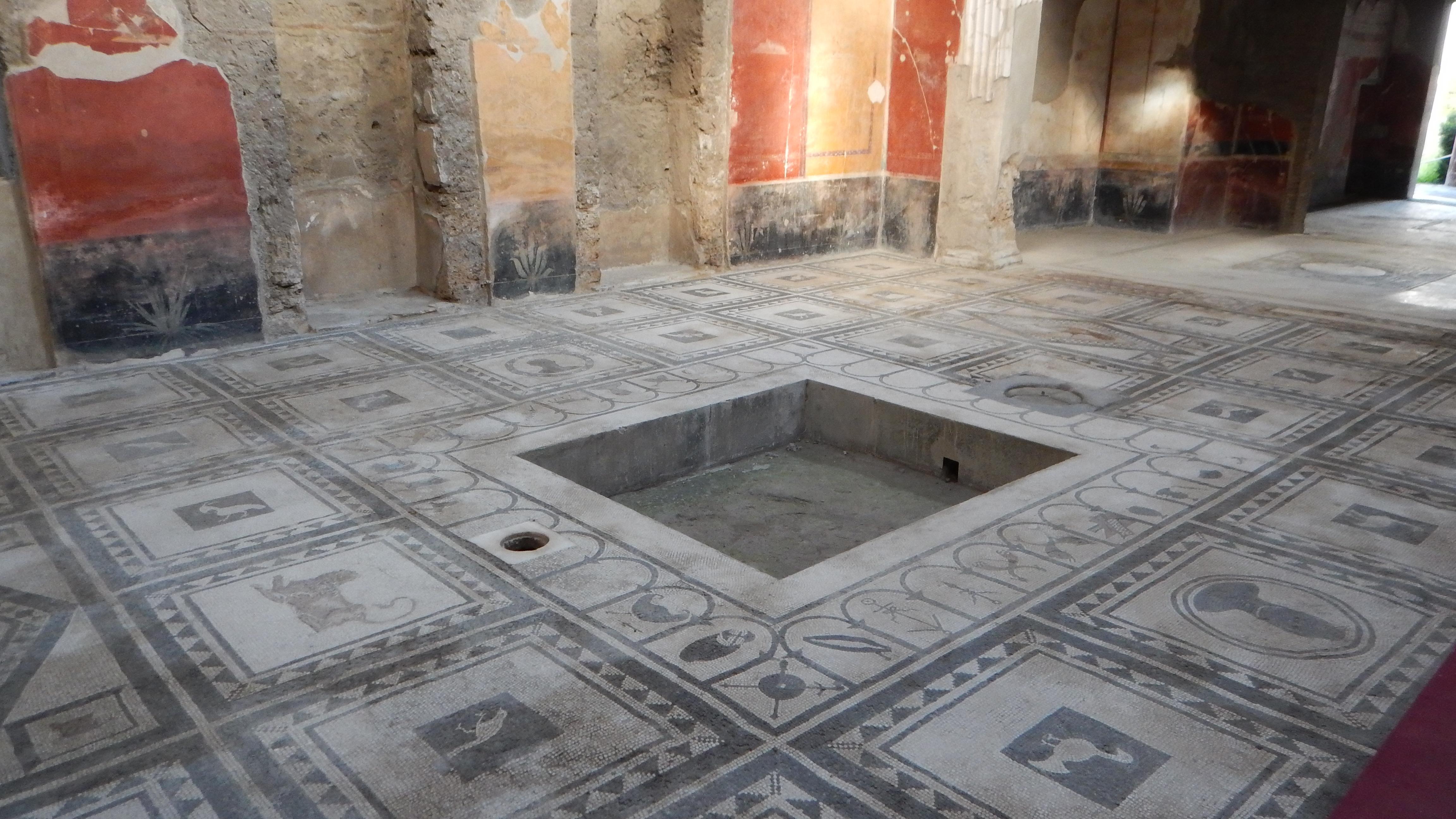 Mosaici_scavi di Pompei