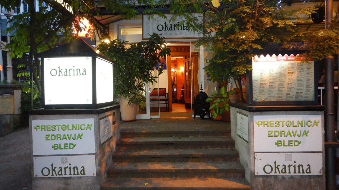 Okarina Restaurant Bled