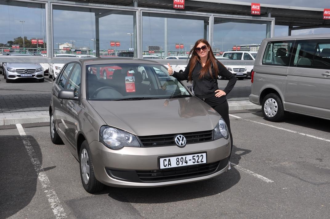 Noleggio auto in Sudafrica