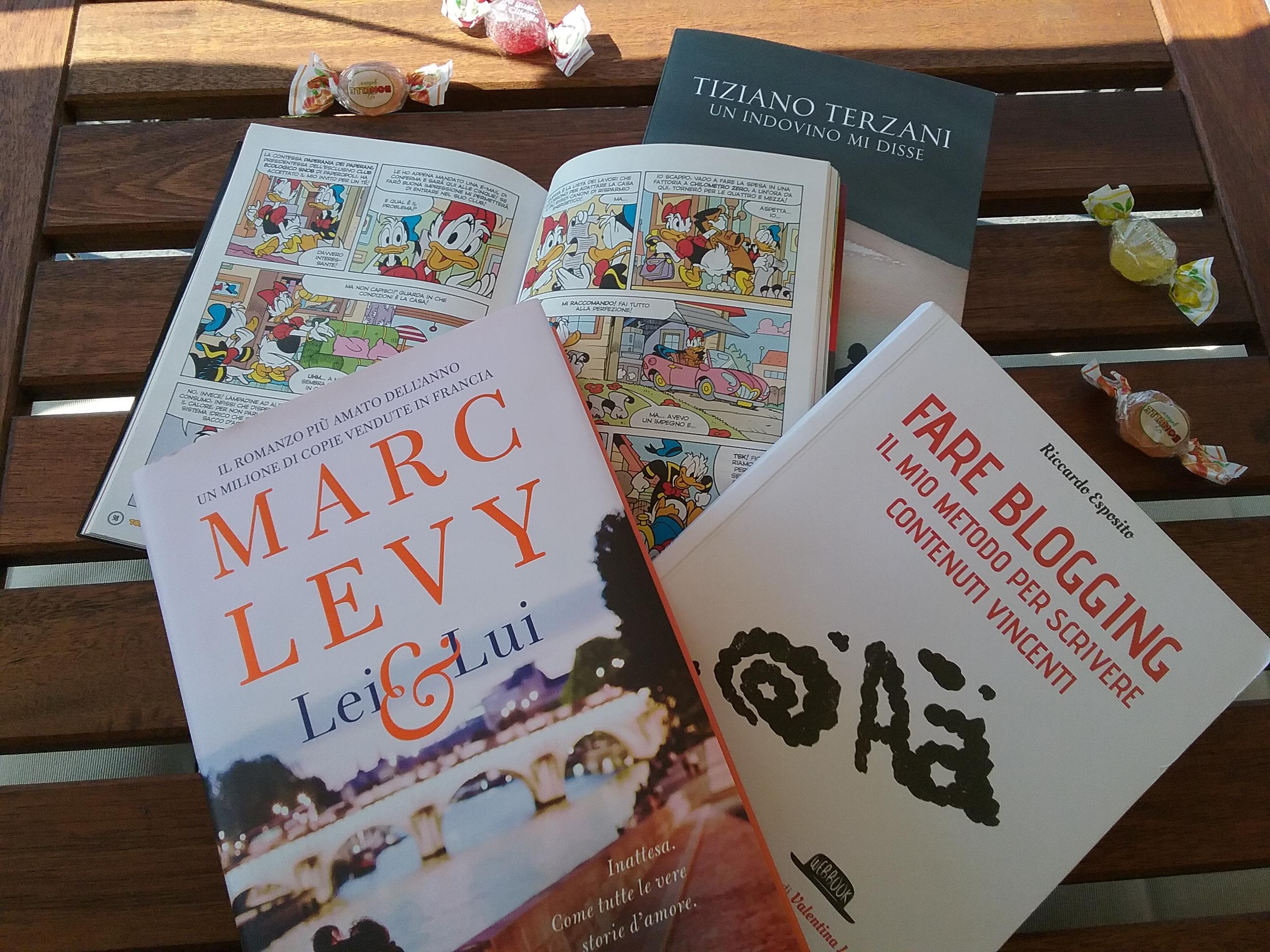 Libri in vacanza