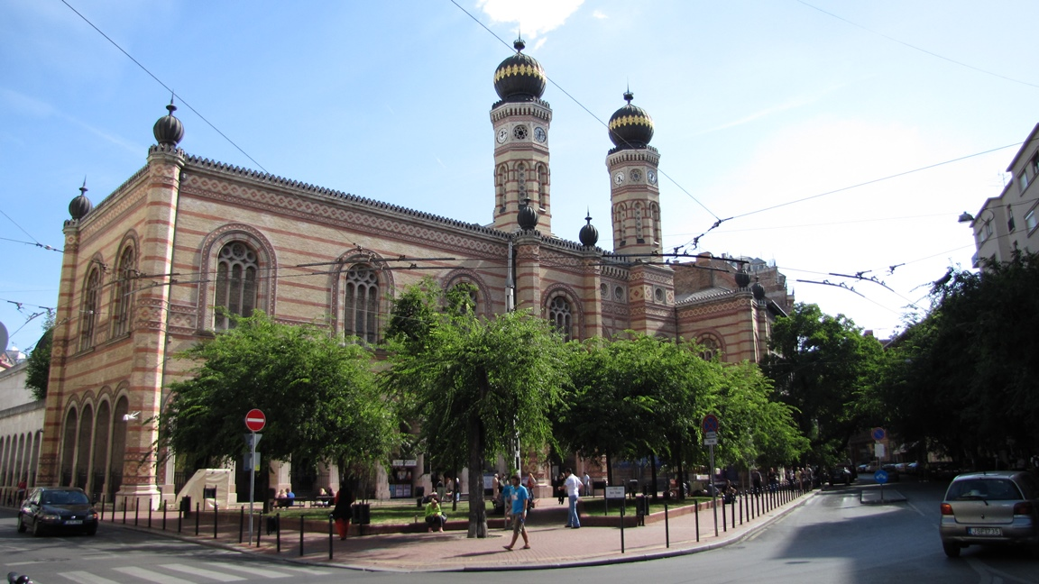 Quartiere ebraico Budapest