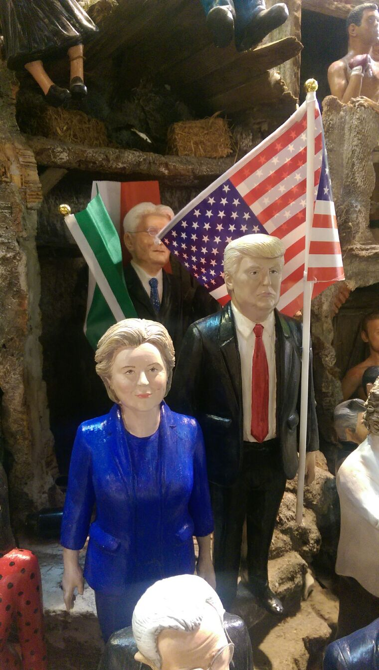 Donald Trump & Ilary Clinton