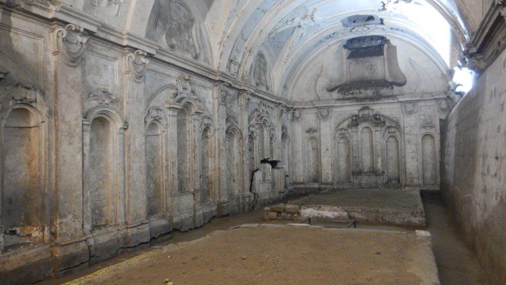 ipogeo chiesa Misericordiella Napoli