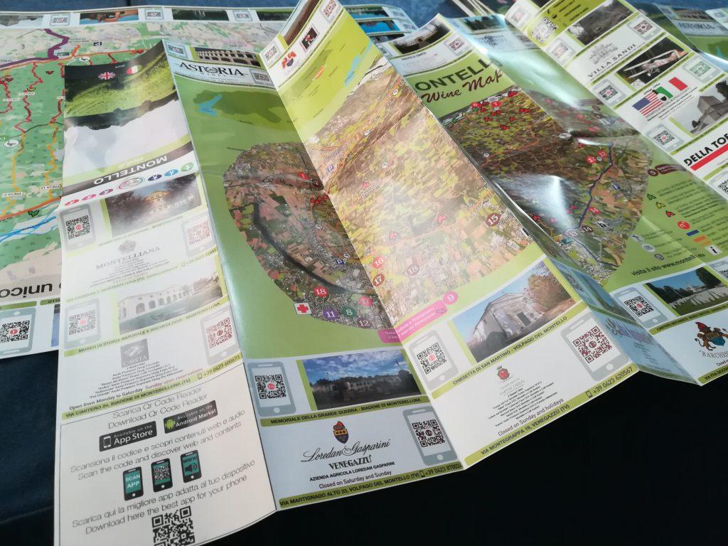 Mappa turistica Montello